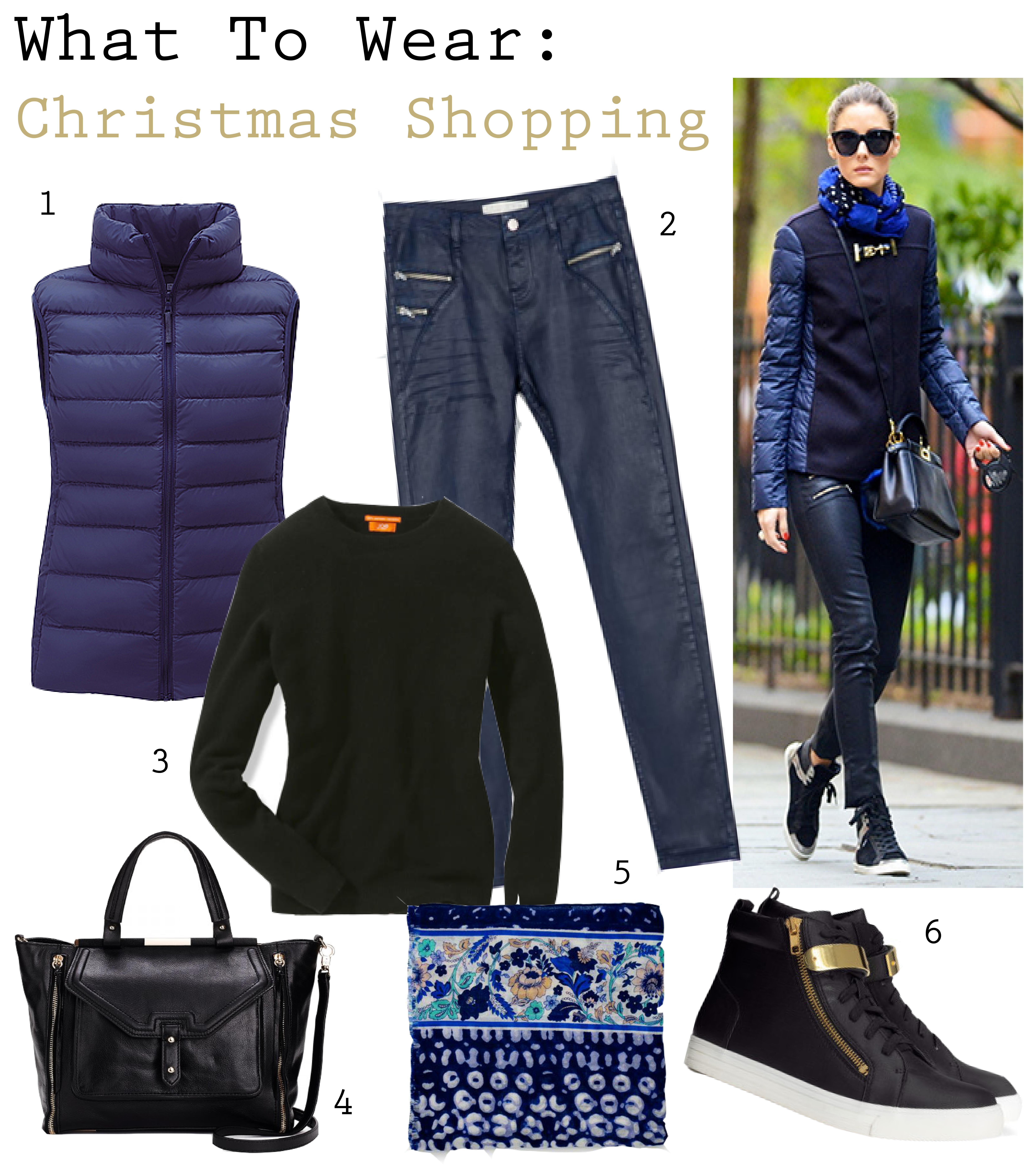 What To Wear: Christmas Shopping | FAT FREE FASHION