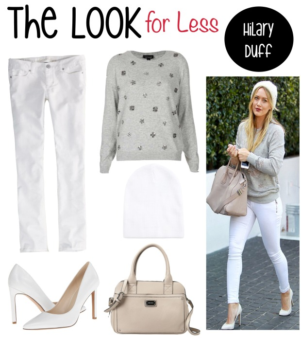 The Look for Less- Hilary Duff